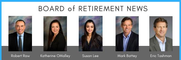 board of retirement news banner